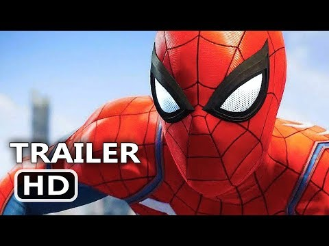 "SPIDER-MAN Official ""E3 2017"" Trailer (2017) PS4 Gameplay HD"