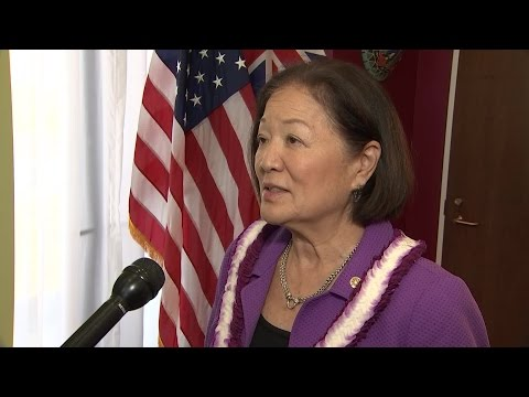 Sen. Hirono talks about Comey hearing