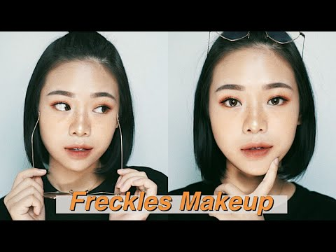 Cute Freckles Makeup Tutorial + DearMe Beauty Lip Coat Swatches