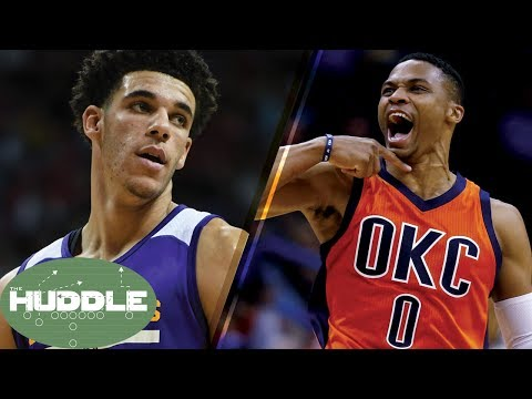 Will Lonzo Ball Average a Triple-Double Like Russell Westbrook? -The Huddle
