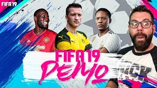 FIFA 19 DEMO GAMEPLAY FIRST LOOK - CUSTOM TACTICS and FORMATIONS - NICK28T ANALYSIS