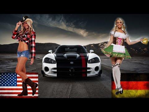 German Autobahn vs US Interstate Highways