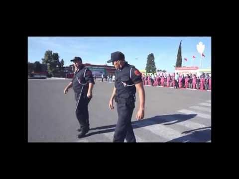 Hicham Mallouli Police Maroc تدخلات بوليسية وتقنيات قتالية للشرطي هشام ملولي بالمعهد الملكي للشرطة