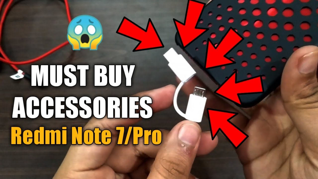 Redmi Note 7 Must Buy Best Accessories Mi 2 In 1 Usb Cable Full Review Usb Otg Support Mi Youtube