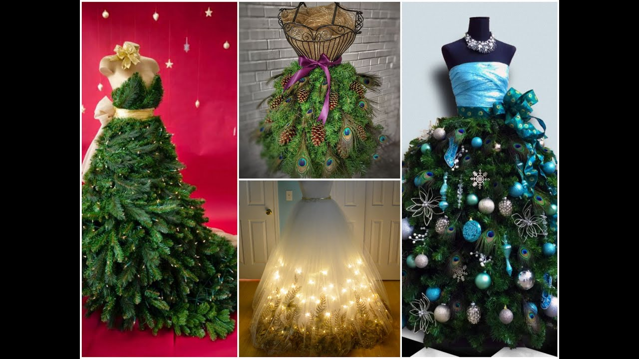35 best dress form christmas trees mannequin christmas tree ideas youtube - Christmas Tree Dress