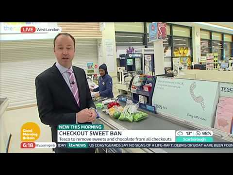 Tesco To End Checkout Sweets? | Good Morning Britain