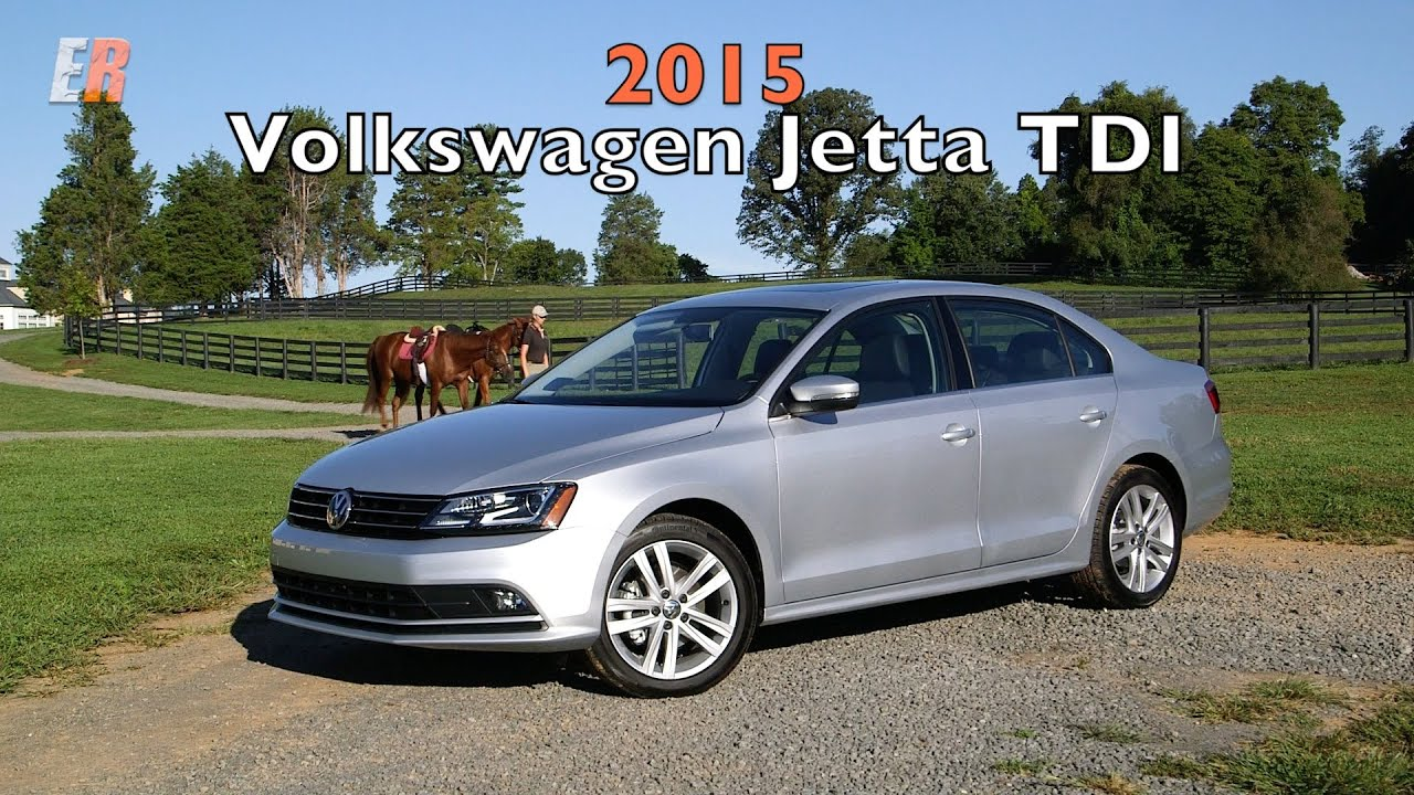 2015 VW Jetta TDI Test Drive Review - YouTube
