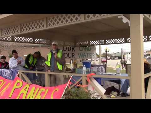 The end of the fossil fuel era --Pete Ackerman, Sabal Trai Resistance