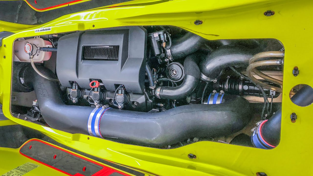 How to install Riva Racing Stage 1 Kit on 2018 Sea Doo RXT X 300