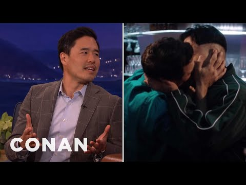 Randall Park's Magical Kiss With James Franco   CONAN on TBS