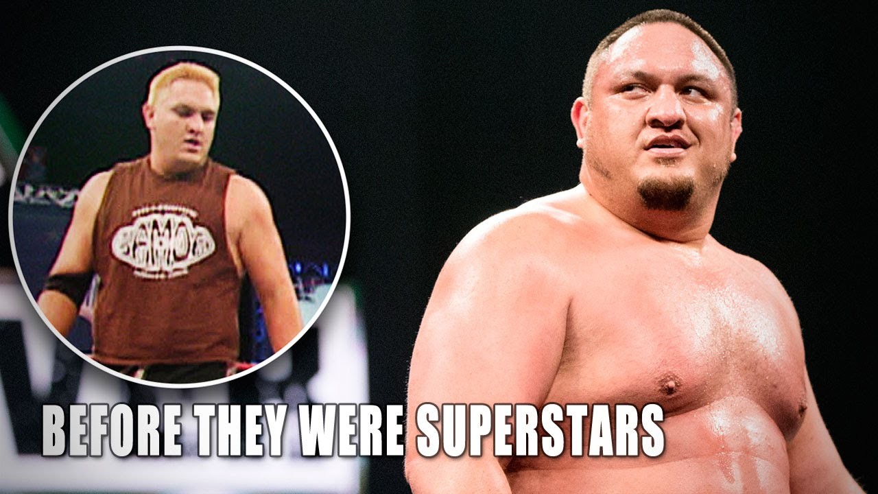 Superstars In WWE Before They Were Famous Part Things - Famous wwe wrestlers looked completely different