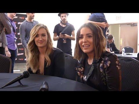 Ashley Johnson and Audrey Esparza talk Blindspot   by Nir Regev