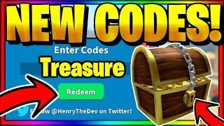 ALL *NEW* SECRET OP WORKING CODES! Roblox Treasure Hunt Simulator (October 2019)