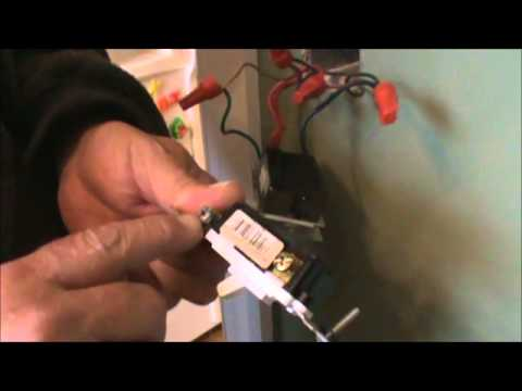 How To Install or Replace A 3 way Dimmer Switch YouTube