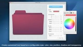 Cool feature to change mac folder ickon ,same way change app ikon o...