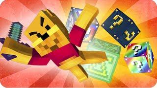 LUCKY BLOCKS BATALLA IGUALADA! | Sara, Gona y Luh en Minecraft