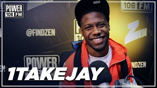 "1TakeJay Talks The Making of ""Hello"", Paying Homage To Suga Free, And His Worse Job!"