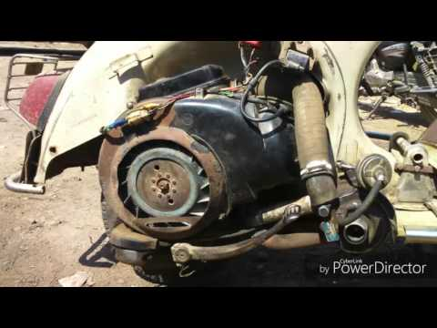 Turbocharger in two stroke Petrol engine scooter,Mechanical Project