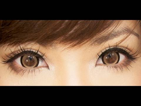 EOS Candy Brown circle lens Dolly eyes