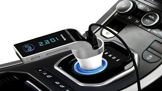 Автомобильный fm-модулятор CAR G7 - Обзор(, 2017-04-07T21:35:26.000Z)