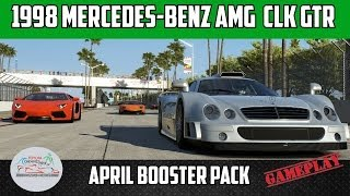 Forza 5 - Mercedes-Benz AMG Mercedes CLK GTR Gameplay - Long Beach Car Pack