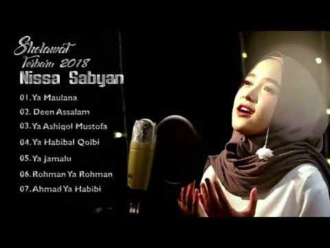 NISSA SABYAN Full Album Video Lirik Lagu Sholawat Terbaru 2018