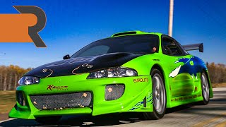 He Built Brian O'Conner's 1999 Eclipse from The Fast and the Furious!