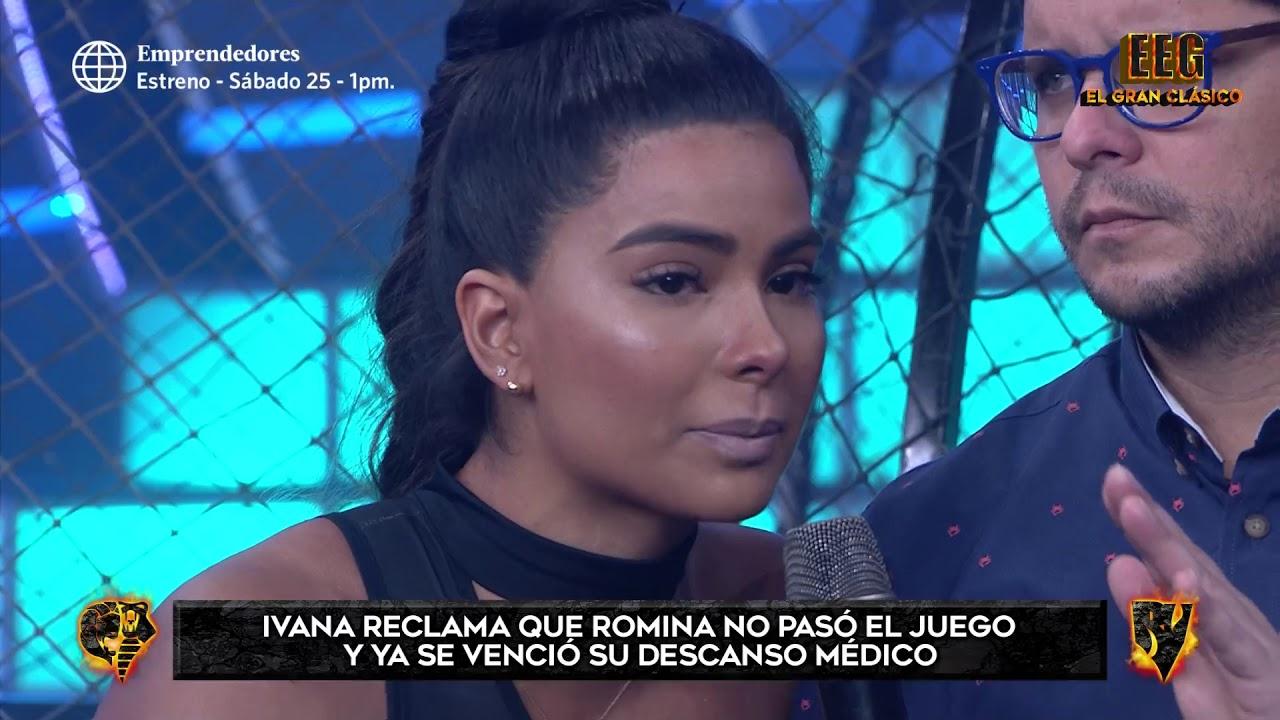 Ivana Yturbe abandonó el set tras enfrentarse al Tribunal por Romina Lozano