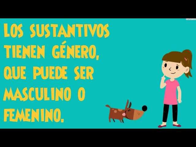 ⏩Género y Número de los Sustantivos - Lengua Sexto Primaria (11 ...