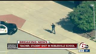 Seventh grader talks about what he saw when teacher tackled the shooter