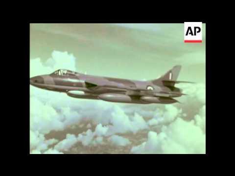 THE FARNBOROUGH AIR SHOW - 1960 - IN COLOUR