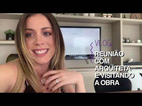VLOG: REUNIÃO COM ARQUITETA E VISITANDO A OBRA! #DIÁRIODAREFORMA