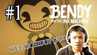 MASA KECIL GW RUSAK TOTAL !! - Bendy and The Ink Machine [Indonesia] Gameplay #1