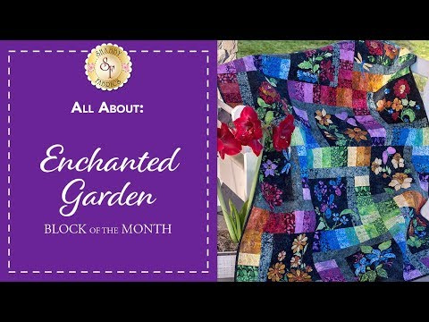 Enchanted Garden Block of the Month | Shabby Fabrics