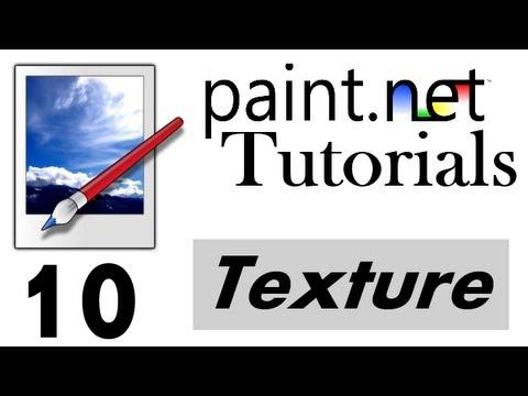 Paint.net Tutorial [German/Deutsch] - Text texturieren | 10