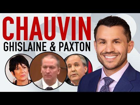 Chauvin Trial Day 5, Ken Paxton Sues Biden on Immigration, Ghislaine Maxwell Update Bail Response