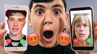 DO NOT CALL MORGZ AND MORGZ MUM AT 3AM! (THEY HAD A HUGE ARGUMENT!)