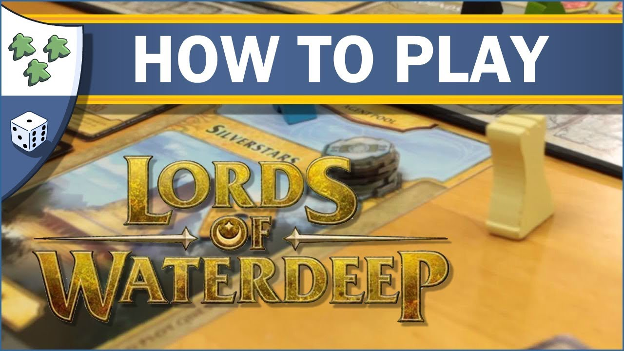 Is Lords of Waterdeep Fun to Play? - boardgamegeek.com
