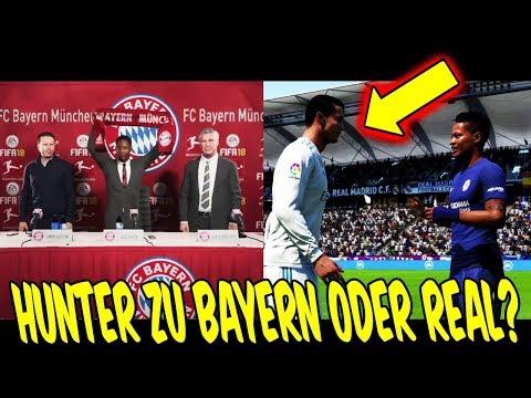 FIFA 18 THE JOURNEY 2 - WECHSELT HUNTER zu BAYERN oder REAL? ⚽⛔️ - Ultimate Team Deutsch Gameplay