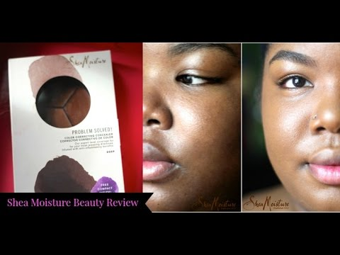 SheaMoisture Color Correcting Concealer Review (Dark Skin)