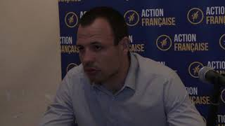 Video Logan A. Nisin : François Bel-Ker de l'Action Française s'exprime. Paris/France - 19 Octobre 2017 download MP3, 3GP, MP4, WEBM, AVI, FLV November 2017