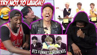 BTS try not to laugh challenge!!! (BTS FUNNY MOMENTS)