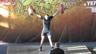 #weightliftinng Чемпионат Украины ШВСМ-турнир И.Рыбака категории 85, 94 кг.