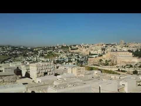 Beautiful view of Old Jerusalem