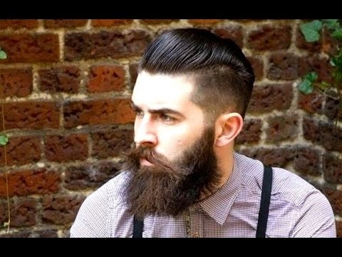 Shaved Sides Hairstyles Men Ponytail