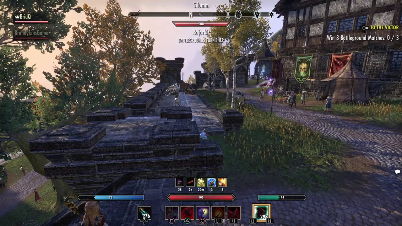 The Elder Scrolls Online: ChinoSnipes91 invisible exploit on his mag sorc