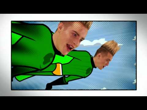 JEDWARD - Put The Green Cape On - EURO  2012