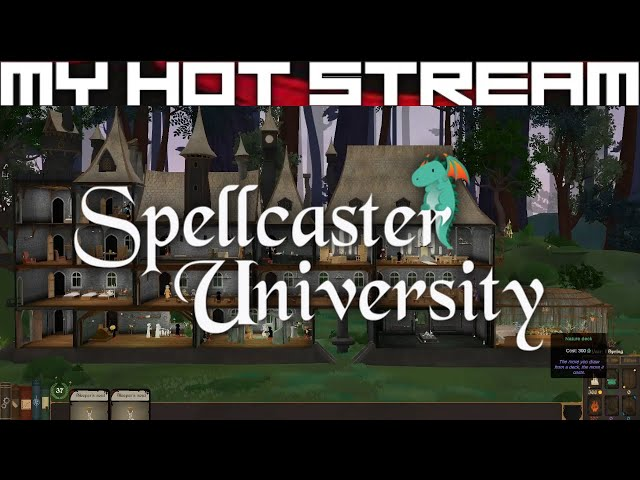 Spellcaster University - First Impressions & Early Game Experience