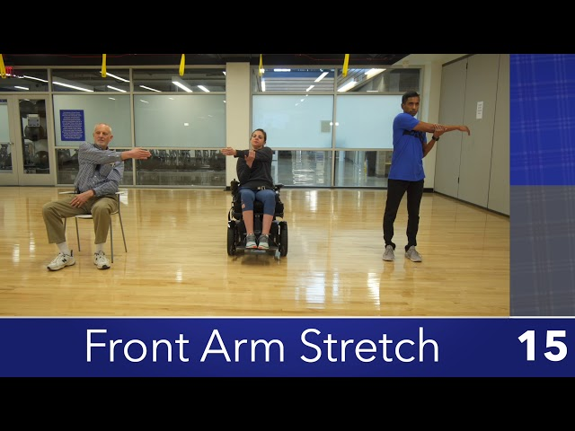Modified Front Arm Stretch