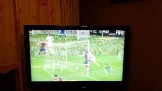 vuclip Messi New Body feinte + amazing goal 26/7/14